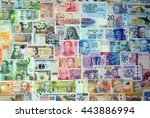 Background From Paper Money Of...