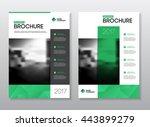 annual report vector...   Shutterstock .eps vector #443899279