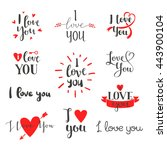 Vector I Love You Photo...