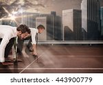 business competition | Shutterstock . vector #443900779