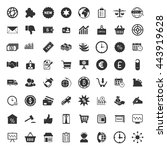 marketing icons set | Shutterstock .eps vector #443919628