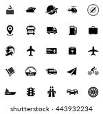 transport icons | Shutterstock .eps vector #443932234