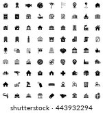 real estate icons   Shutterstock .eps vector #443932294