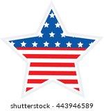 independence day   4th of july... | Shutterstock .eps vector #443946589