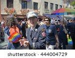 new york city   june 26 2016 ... | Shutterstock . vector #444004729
