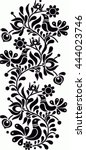 hungarian folk art | Shutterstock .eps vector #444023746