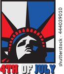 liberty july | Shutterstock .eps vector #444039010