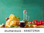 food background or healthy... | Shutterstock . vector #444072904
