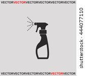 liquid for washing window icon. | Shutterstock .eps vector #444077110