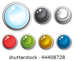vector illustration of colorful ... | Shutterstock .eps vector #44408728