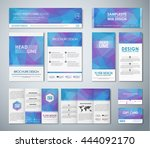 corporate identity design with...