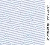 pattern stripe seamless pink... | Shutterstock .eps vector #444122794