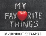 My Favorite Things Phrase...