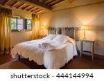 stylish design interior of a... | Shutterstock . vector #444144994