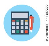 accounting vector icon | Shutterstock .eps vector #444157270