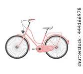 retro illustration bicycle | Shutterstock .eps vector #444166978