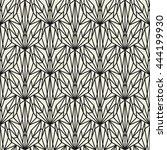 vector seamless pattern. modern ... | Shutterstock .eps vector #444199930