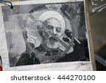 june 2016   berlin  a protest...   Shutterstock . vector #444270100
