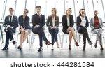 recruitment resume office skill ... | Shutterstock . vector #444281584