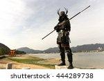 Samurais In Duel Of Japanese