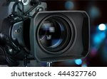 Home Video Camera. - stock photo
