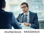 young employee | Shutterstock . vector #444334414