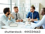 briefing | Shutterstock . vector #444334663