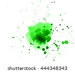 colorful abstract watercolor... | Shutterstock .eps vector #444348343