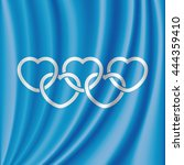 Heart Shaped Olympic Rings....