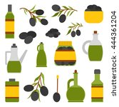 vector illustration with flat... | Shutterstock .eps vector #444361204