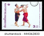 thailand   circa 2010  a thai... | Shutterstock . vector #444362833
