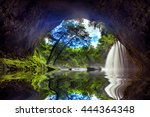 Cave In Heo Suwat Waterfall In...