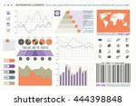 infographic elements  web... | Shutterstock .eps vector #444398848