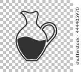 amphora sign. dark gray icon on ...