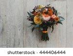 Autumn Wedding Bouquet Made Of...