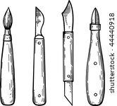 painter tools | Shutterstock .eps vector #44440918