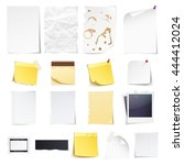design elements notebook ... | Shutterstock .eps vector #444412024