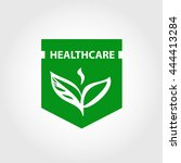 element design  logo for health ... | Shutterstock . vector #444413284
