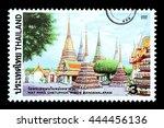 bangkok  thailand   circa 2010  ... | Shutterstock . vector #444456136