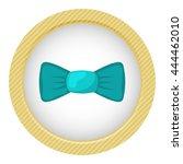 single bow colorful icon....