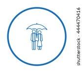 love couple symbol | Shutterstock .eps vector #444470416
