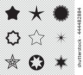 star icons. concept rating ... | Shutterstock . vector #444482884