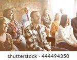 corporate seminar conference... | Shutterstock . vector #444494350