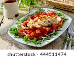 Salad Of Grilled Chicken With...