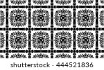 black and white elements and... | Shutterstock . vector #444521836