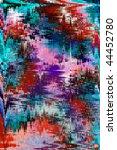 background image in aztec zig...   Shutterstock . vector #44452780