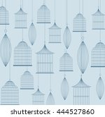 decoration object concept... | Shutterstock .eps vector #444527860