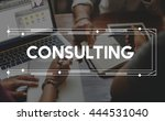 consult consultant consulting... | Shutterstock . vector #444531040