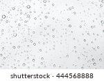 drops of rain on glass   Shutterstock . vector #444568888