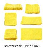 Single Yellow Terry Cloth Towe...